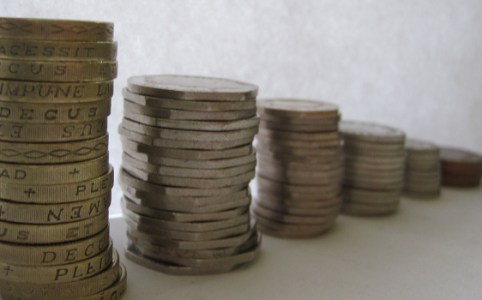 English coins, July 2010 by Images Money