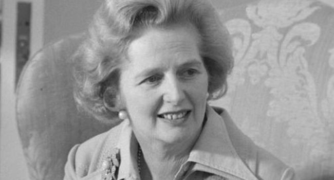 Margaret Thatcher via Robert Huffstutter