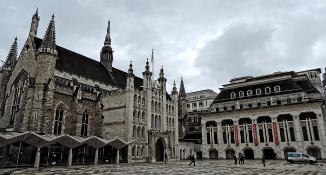 Guildhall, City of London, March 2015 by DncnH
