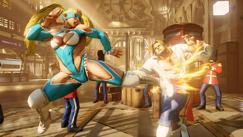 Street Fighter V via Capcom