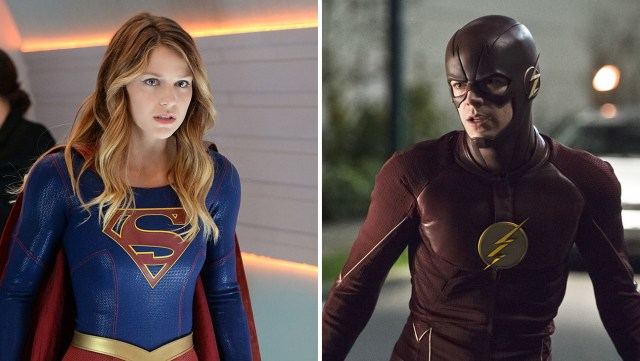 "CW's ""The Flash"" and CBS' ""Supergirl"" Crossover via YouTube"