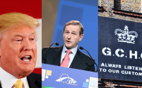 RD E36 Donald Trump, Enda Kenny, GCHQ