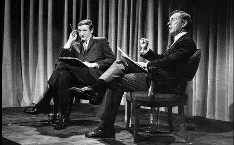 William Buckley debating Gore Vidal, 1968 in public domain
