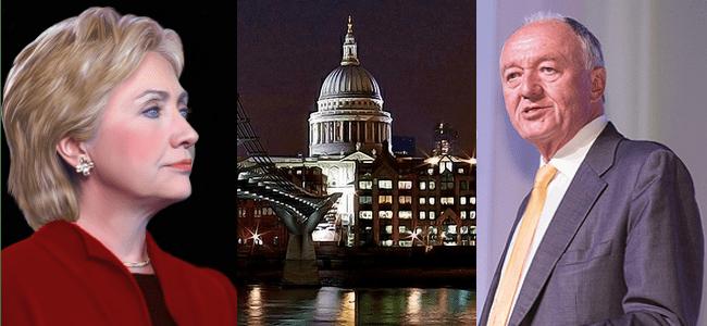 RD E43, Hillary Clinton, St Pauls in London, Ken Livingstone