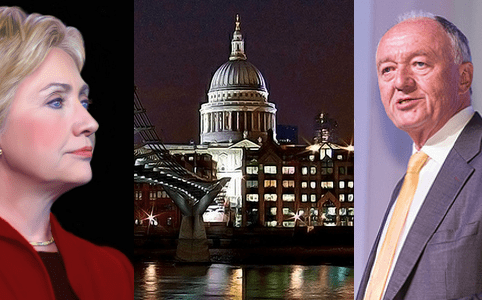 RD E43, Hillary Clinton, St Pauls in London, Ken Livingstone