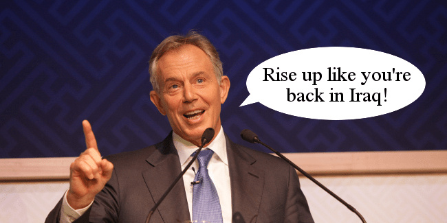 Right Dishonourable 70 Tony Blair