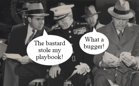Right Dishonourable – Nixon stolen playbook