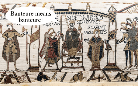 Bayeux tapestry trolling