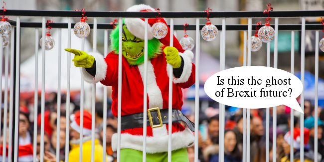 Merry Brexmas Grinch
