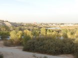 A view of the Colorado River and East Wetlands, Yuma