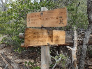 Junction with Boy Scout Trail