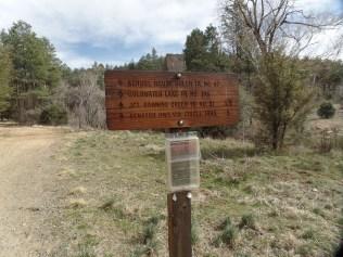 Trailhead, White Spar Campground