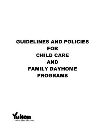 Policy On Manual Handling In Childcare Centers