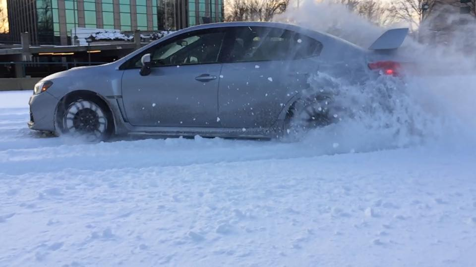 2015 WRX Snow Drift