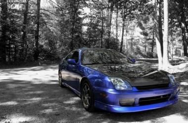 electron blue 2001 honda prelude