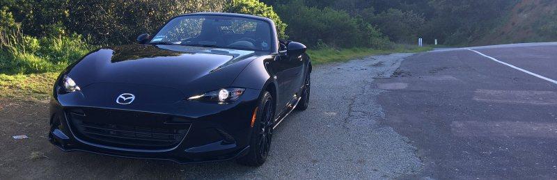 Black 2016 Mazda MX-5 Club