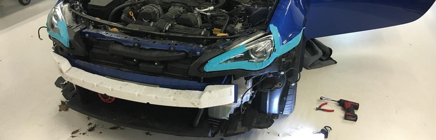 K40 RL360i install on a Subaru BRZ