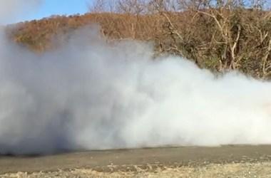 2016 Mustang GT Burnout
