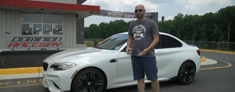 2017 BMW M2 at Dominion Raceway