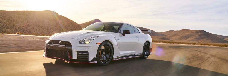 White 2017 Nissan GTR Track Edition