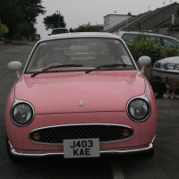 Saying Goodbye to my Pink Nissan Figaro