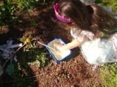 outdoor sensory play