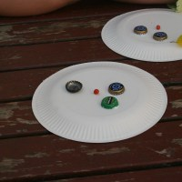 Outdoor Play: Nature Faces
