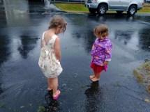 Playing Outside Barefoot