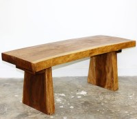 Natural Edge Bench - Right Futons & Waterbeds