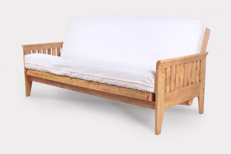 folding sofa sleeper hinge assembly set small leather sofas for rooms uk juno full size futon frame medium oak right futons