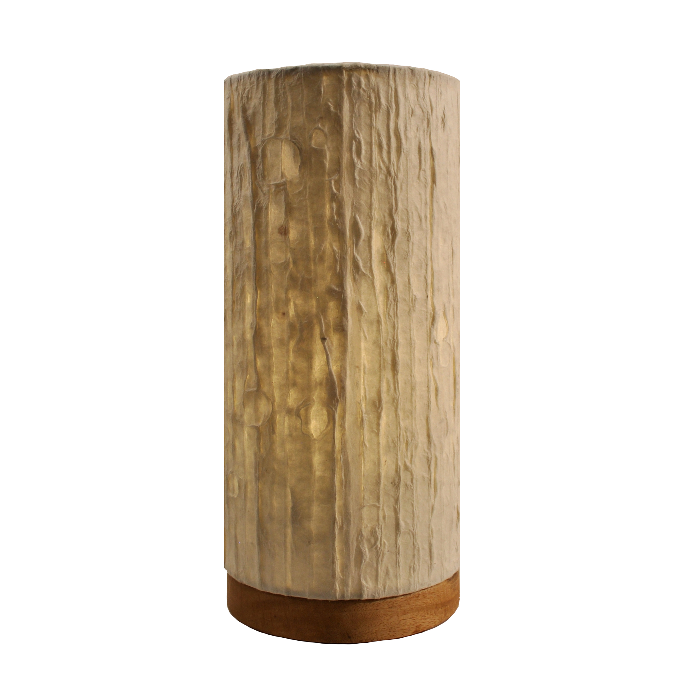 Paper Cylinder Table Lamp  Right Futons  Waterbeds