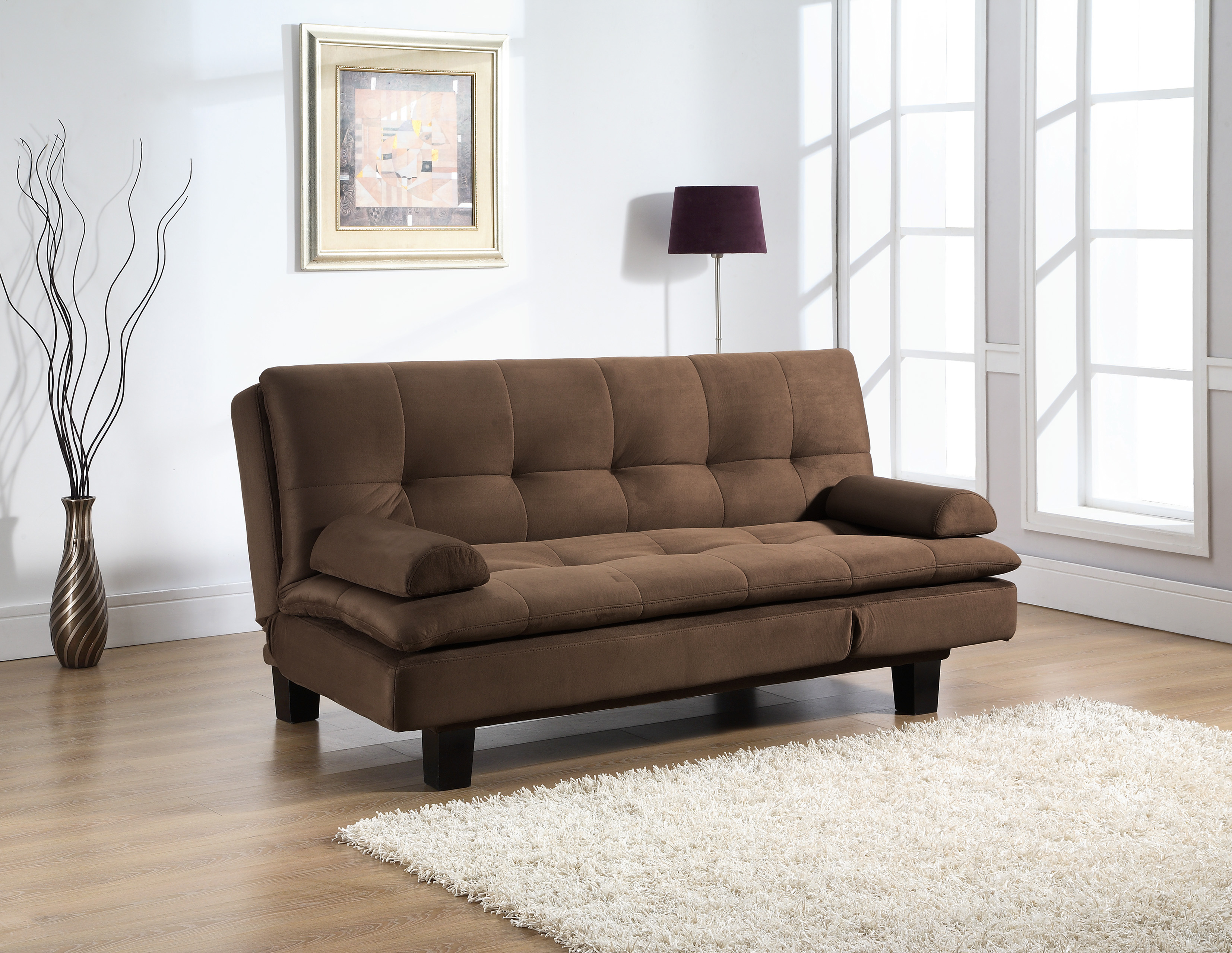 Lounge Couch Adelaide Convertible Sofa By Lifestyle Solutions Java ...