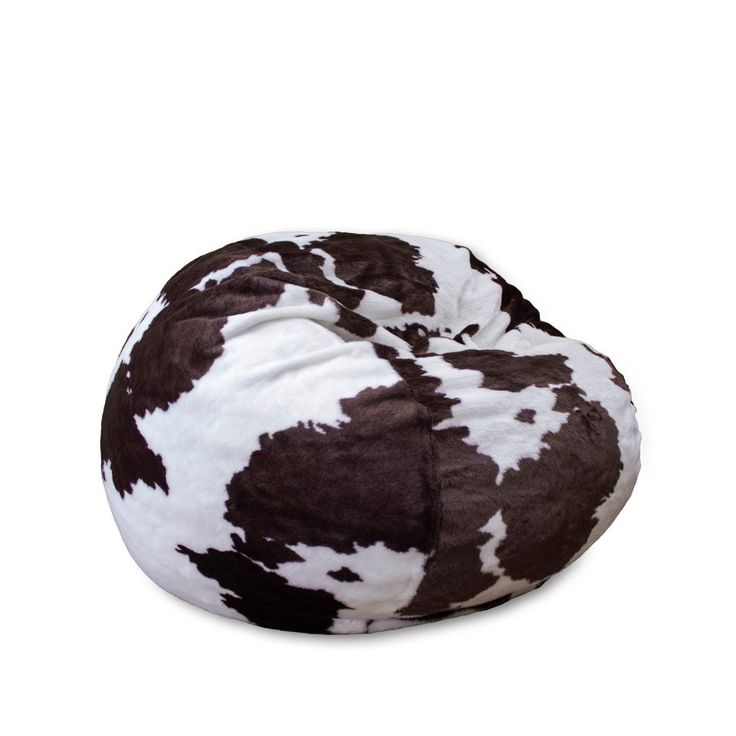 Full Cordaroys Faux Cow Fur Sleeper Bean Bag  Right
