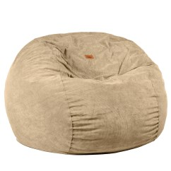 Corduroy Bean Bag Chair Container Store Chairs Full Size Khaki Sleeper Right Futons