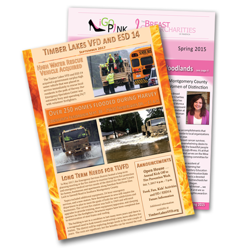 Full Color Newsletters