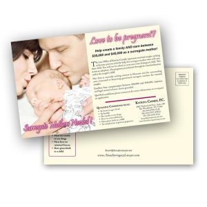 Image if direct mail postcard