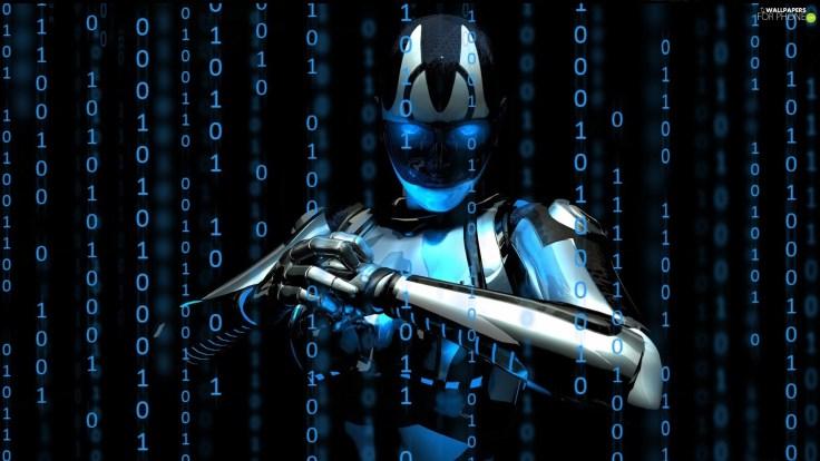 matrix-robot-numbers-3d