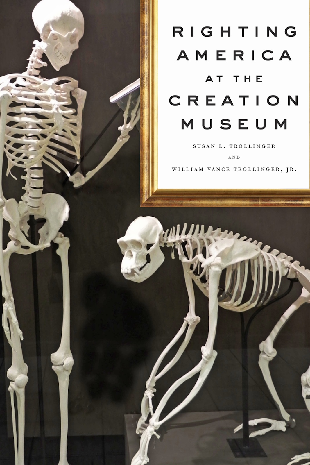 book cover of Righting America at the Creation Museum