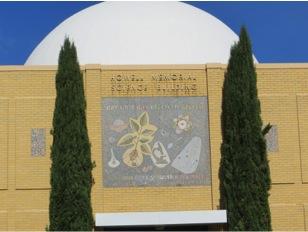 facade of science building at Bob Jones University