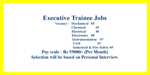 Electrical, Mechanical, Civil, Chemical, Electronics, Fire and Safety Engineering Jobs