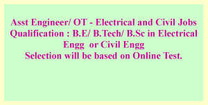 Electrical and Civil Engineering jobs-2021