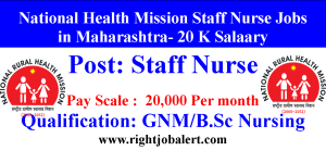 National Health Mission 20K Salary Jobs in MH