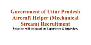 Diploma in Aircraft Maintenance Engineering in the Mechanical Stream jobs in Uttar Pradesh