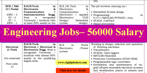 BE BTech in Electrical or Electronics and Communication Engineering Jobs -56K Salary