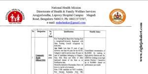 3006 Nursing Vacancies under National Health Mission