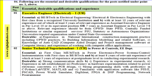 BE BTech in Electrical Engineering Electrical and Electronics Engineering Job Vacancies