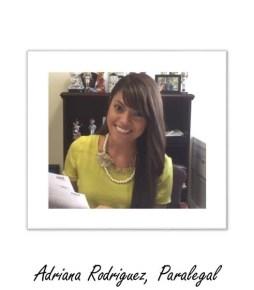 Adriana Rodriguez, Las Vegas Divorce Attorney Paralegal