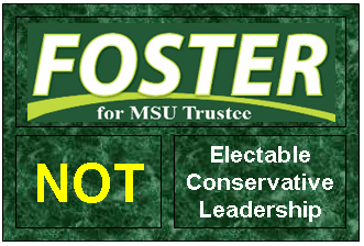 Foster Is Not . . .