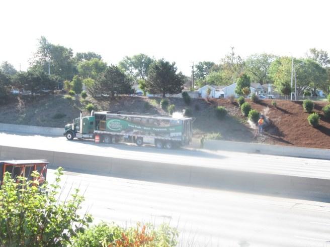 I-696 Mulch Job - Photo 001
