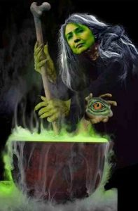 Hillary Witch Image A